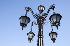 Lamppost in Ubeda, Andalusia Stock Photo