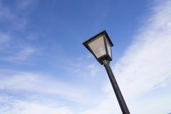 Lamppost. Urban Lamp light from below Royalty Free Stock Image