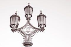 Lamppost; Westminster Bridge; London Royalty Free Stock Image