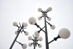 lampposts старые Стоковое фото RF