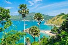 Lampromphep phuket Tailandia del mare Fotografia Stock