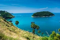 Lampromphep phuket Thaïlande de mer Photos libres de droits