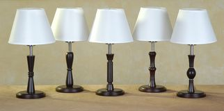 Lamps Stock Photography