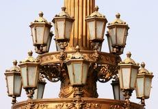 Lamps. Prague, Czech Republic royalty free stock photos