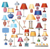 Lamps stock illustration