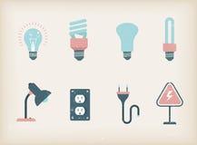Lamps vector illustration