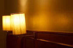 Lamps in the bedroom Royalty Free Stock Photography