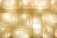 Lamps ceiling Stock Image