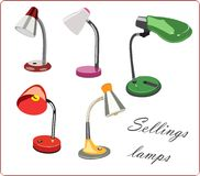 Lamps collections Royalty Free Stock Photography