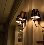 Lamps. Decorative  home and restaurants Stock Image