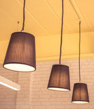 Lamps. Decorative  home and restaurants Stock Photo