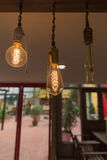 Lamps. Decorative  home and restaurants Royalty Free Stock Photo
