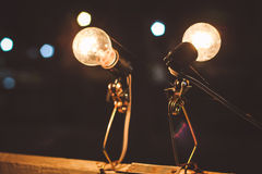 Lamps. Electric , neon , lamp , light , lighting , web Royalty Free Stock Photography