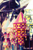 Lamps of india Stock Image