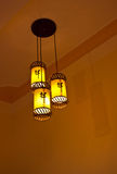 Lamps for indoor decoration. Stock Photography