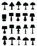 Lamps and lighting Royalty Free Stock Photos