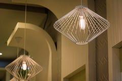 Lamps modern Stock Image
