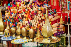 Lamps on Moroccan marke Royalty Free Stock Photos