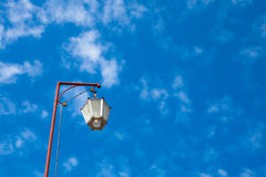 Lamps on roof stock photos