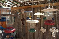 Lamps for sale, San Angelo, Texas, US stock images