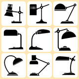 Lamps Set Stock Photo
