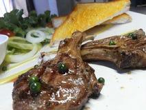 Lamps steak Royalty Free Stock Photos