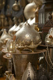 Lamps in street shop in cairo, egypt Stock Photography