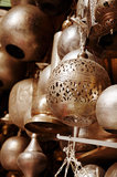 Lamps in street shop in cairo, egypt Stock Image