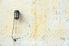 Lamps on the wall. Royalty Free Stock Photography