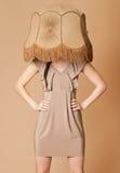 Lampshade fashion Stock Photo