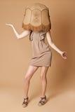 Lampshade fashion Royalty Free Stock Photos