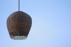Lampshades ινδικού καλάμου Στοκ Εικόνες