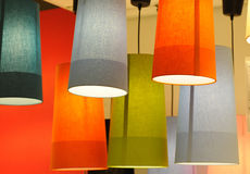 Lampshades Stock Image