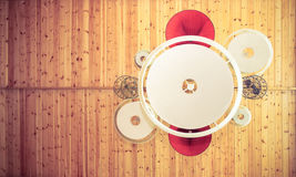 Lampshades ceiling background Royalty Free Stock Photography
