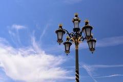 Lampstandard royaltyfria foton