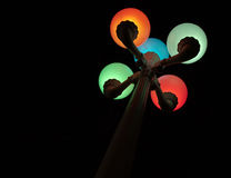 lampstolpe Royaltyfri Fotografi