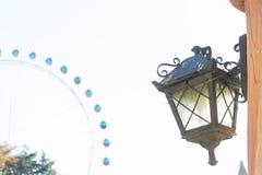 Lampstolpe, ljusa Pole Arkivbilder