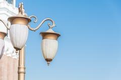 Lampstolpe, ljusa Pole Fotografering för Bildbyråer