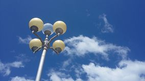 Lampuppsättning Royaltyfri Fotografi