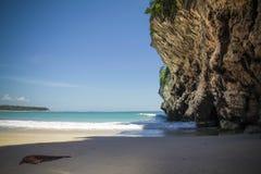 Lampuuk strand Indonesien Arkivfoton