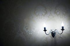 lampvägg Arkivfoton