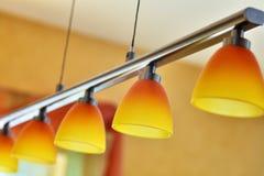 lampvardagsrum Arkivbild