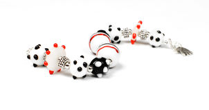 Lampwork bracelet Stock Photography