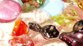 Lampwork glass pärlor lager videofilmer
