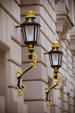 lampy ściana fotografia stock