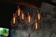 Lampy dla wnętrza Obraz Royalty Free