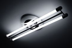 lampy fluorescencyjne światło Fotografia Stock
