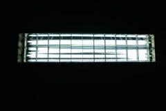 lampy fluorescencyjnej oszczędność światła Obrazy Stock