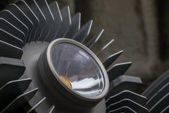 Lampy i metalu grzejnik reflektor Obrazy Stock
