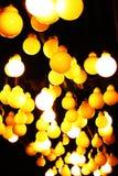 Lampy na suficie Obrazy Stock